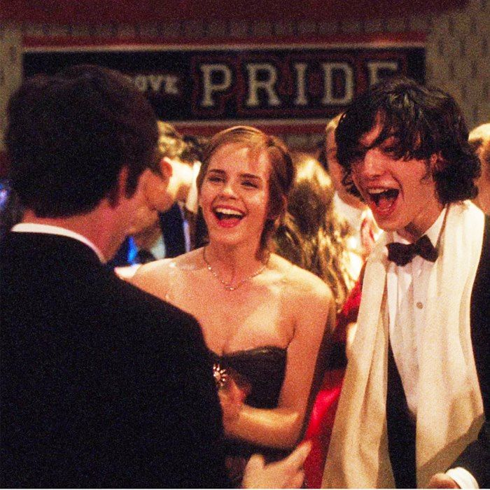 Emma Watson,Ezra Miller The Perks of Being a Wallflower by Stephen Chbosky