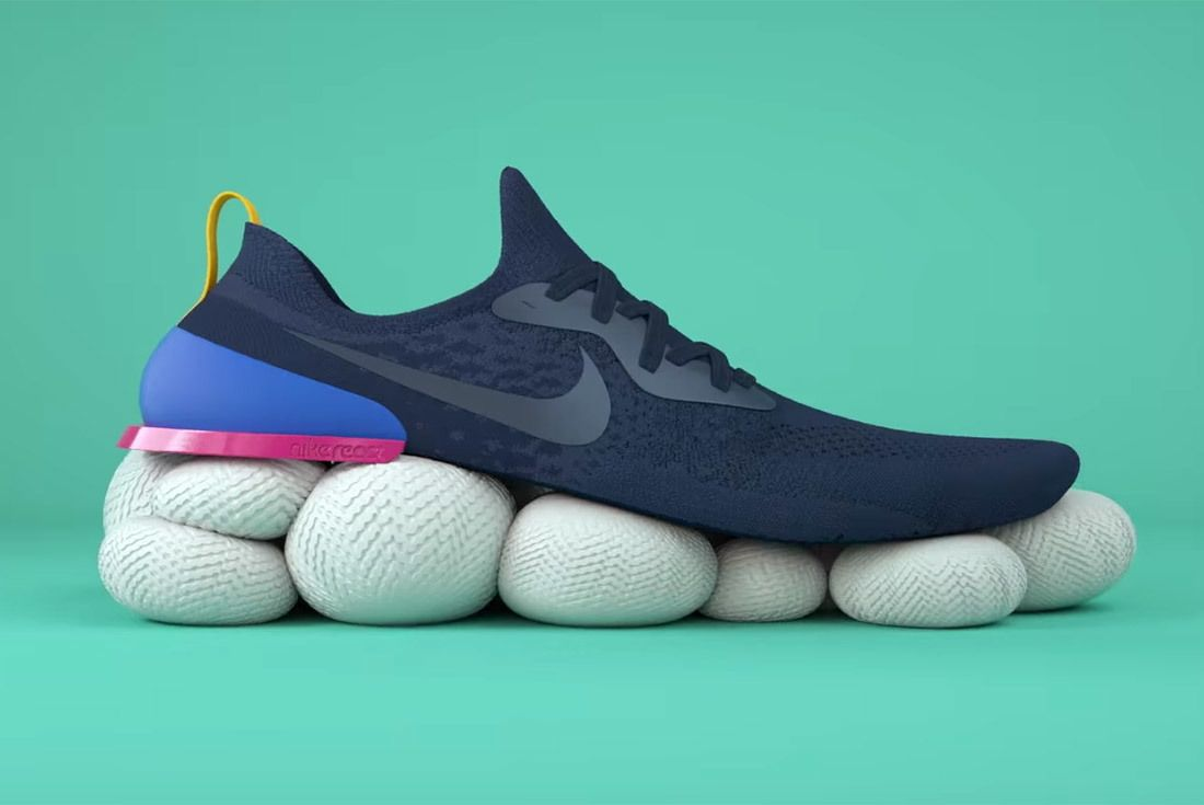 Ligadura lento Disco  Material Matters: Nike React Vs. adidas BOOST | Nike, Adidas boost ...