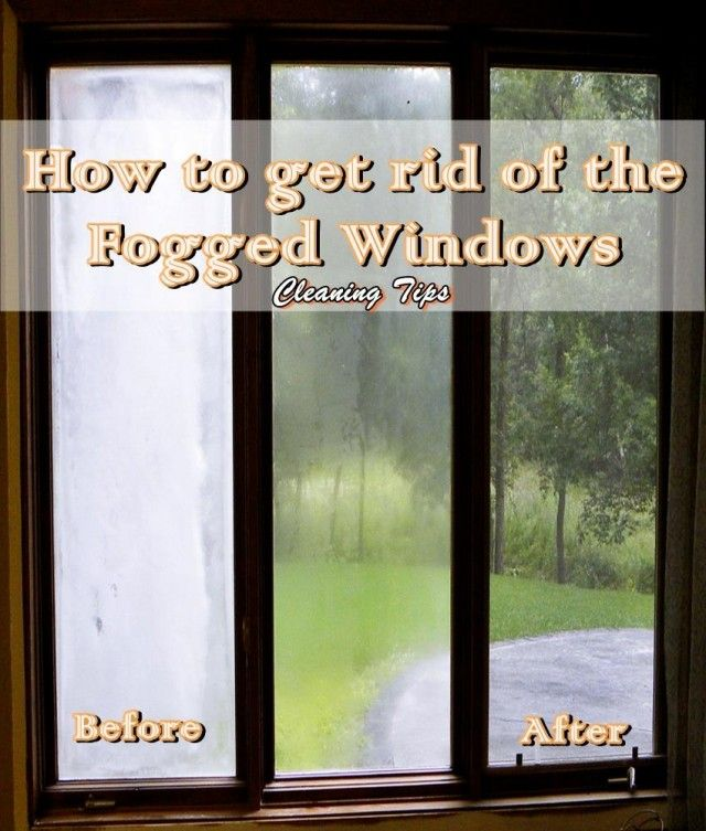Tips For Cleaning Windows: To Prevent Windows From Fogging During The Cold Season