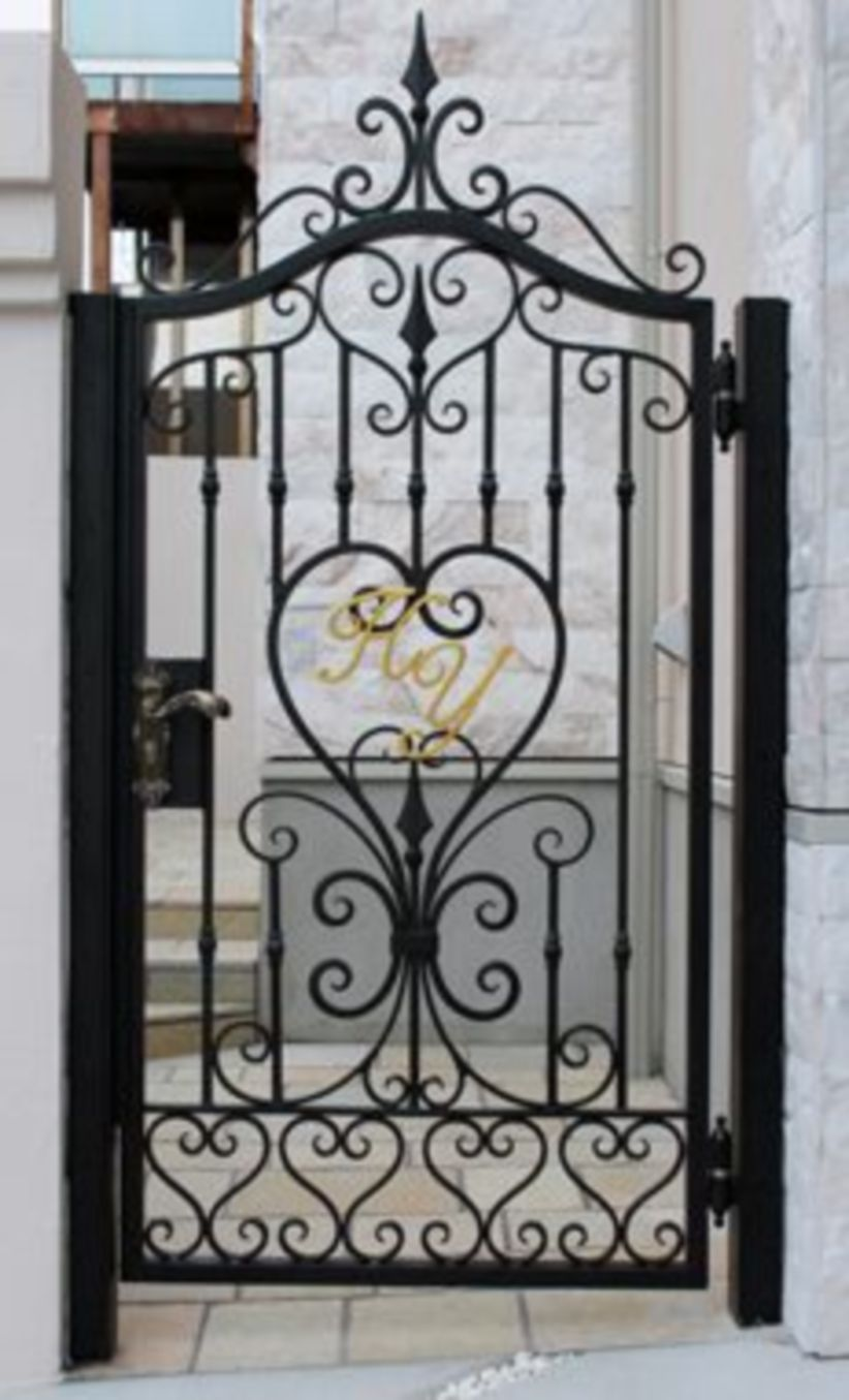 48 Steel Gate Design Idea Is Perfect For Your Home Iron Gate Design Wrought Iron Gate Designs Steel Gate Design