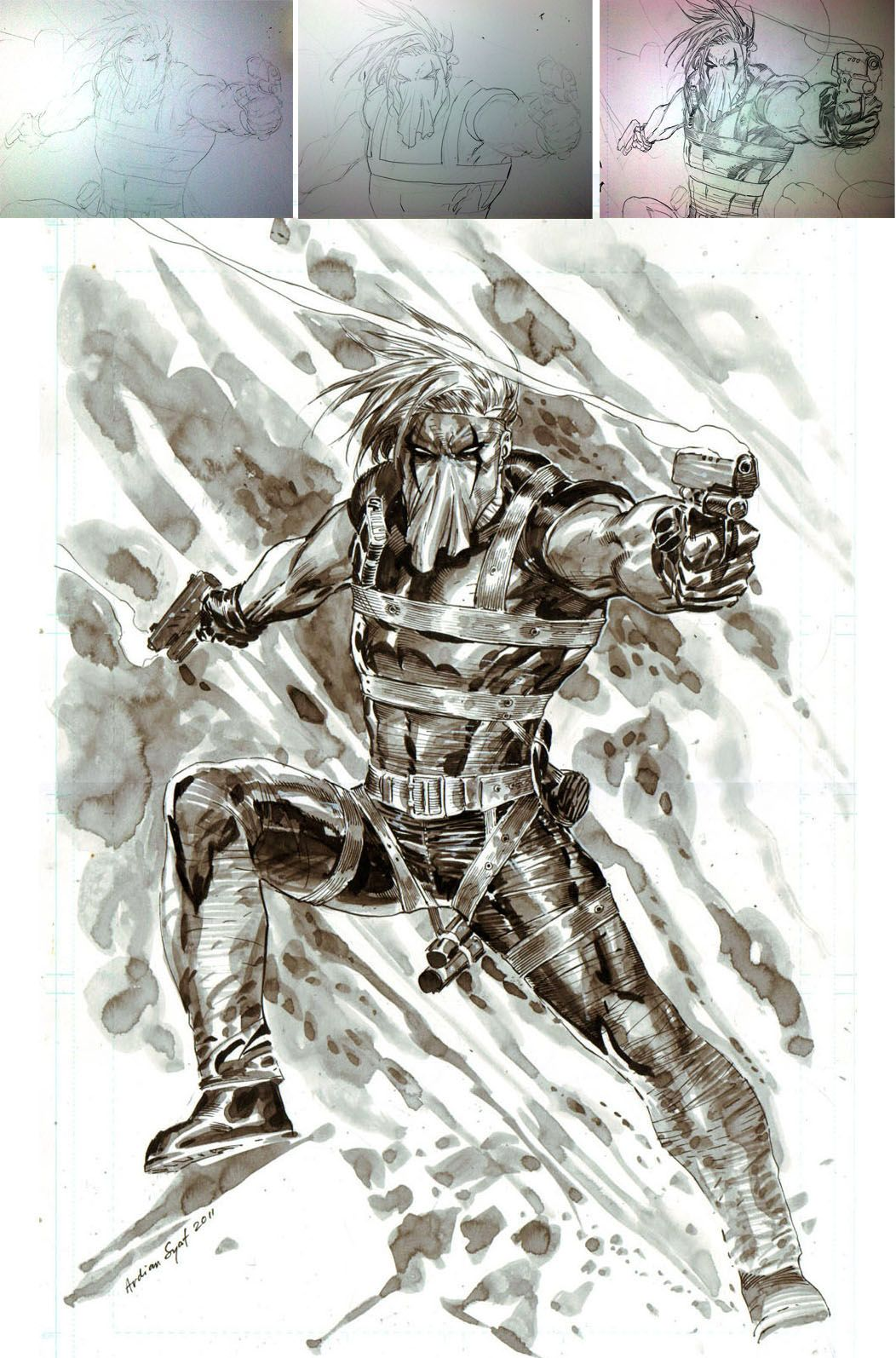 Grifter And Pencils Steps By Ardian Syafviantart