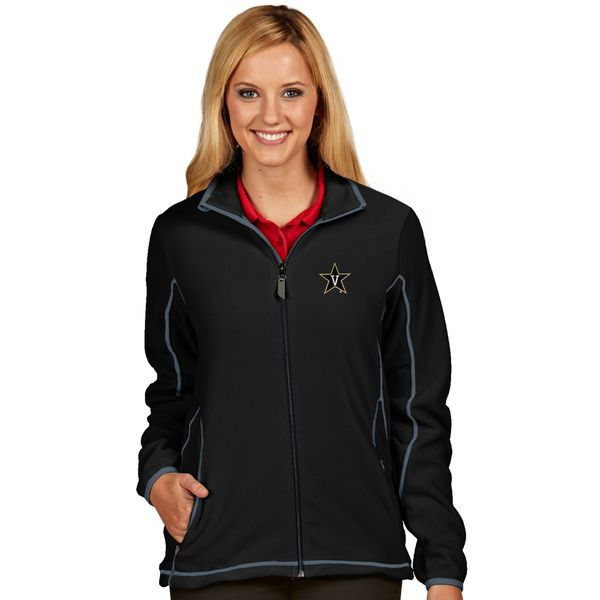 Vanderbilt Commodores Antigua Women's Ice Full-Zip Jacket - Black - $66.99