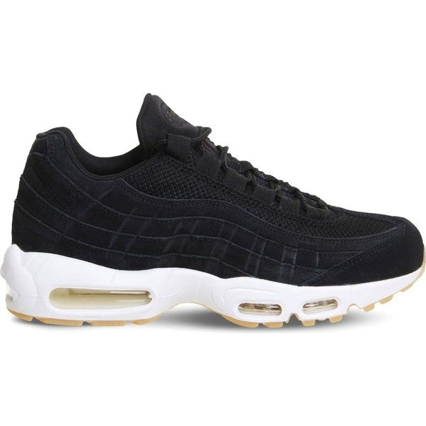 release date 66d5a 6a52b ... NIKE Air Max 95 suede and mesh trainers (2.490 ARS) ❤ liked on  Polyvore; Nike x Atmos Air Max 95 DLX Animal Pack 2.0 ...