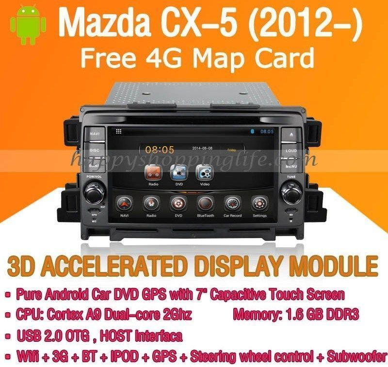 android auto radio dvd gps for mazda cx 5 2012 autoradio 8 core 4g rh pinterest com