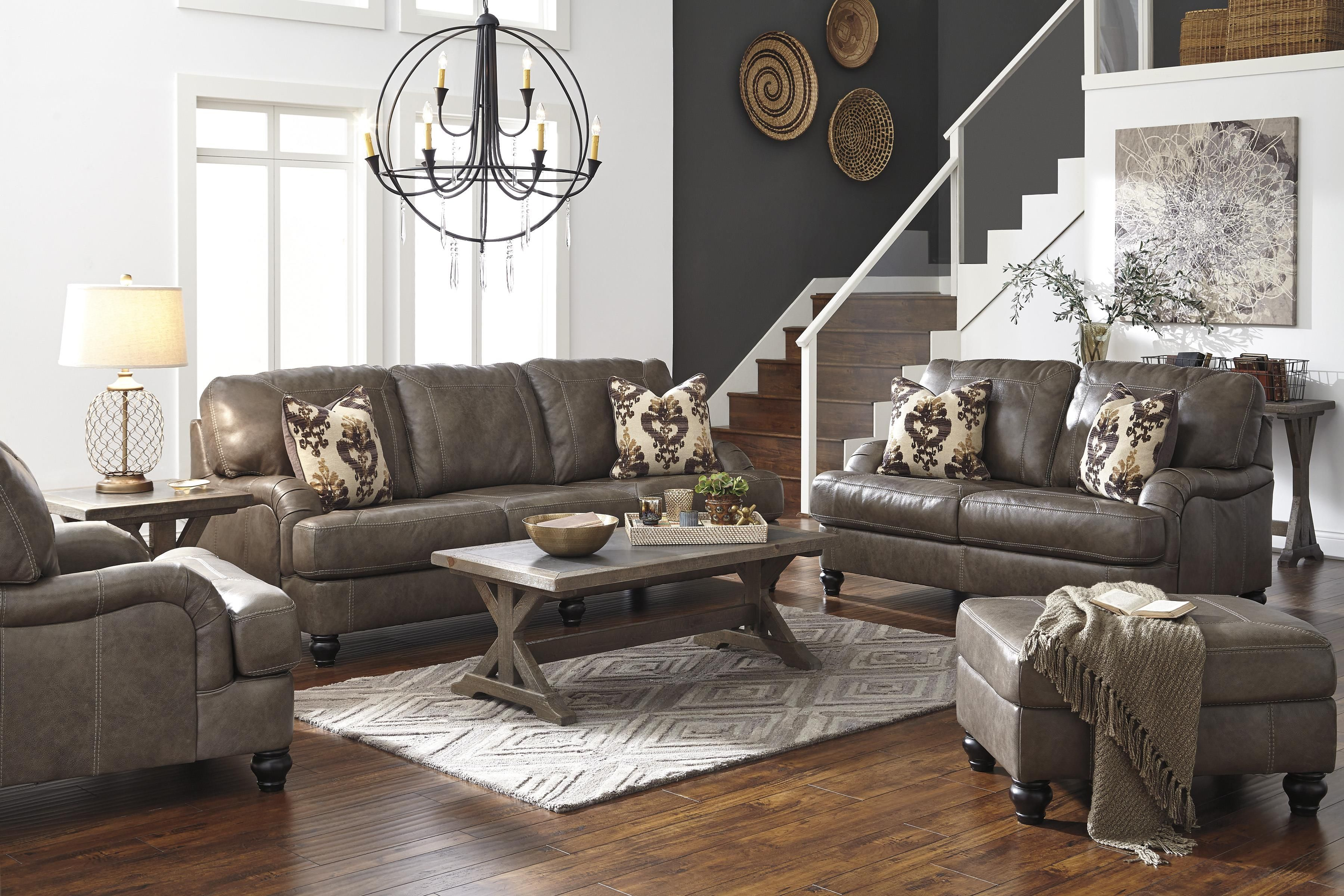 Kannerdy Stationary Living Room Group By Benchcraft Ashley
