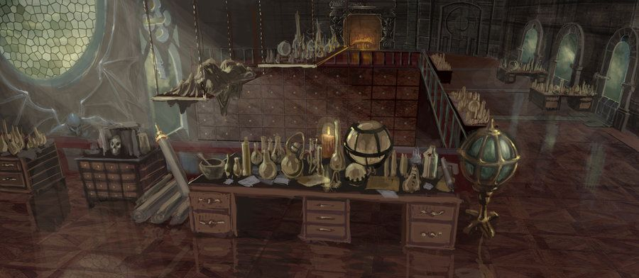 Wizard's Apothecary by Rusty001 on DeviantArt