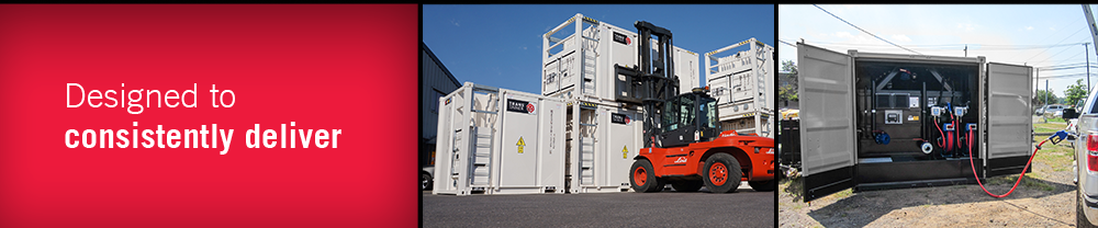TransTainer Transportable Double walled diesel fuel storage