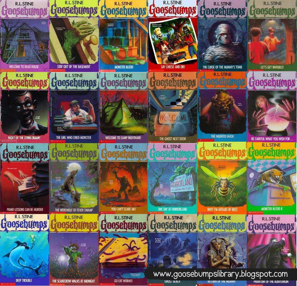 Read Goosebumps Books Online - Free | The-Area51 com