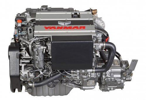Yanmar Launches New Mid Range Engines At Cannes Engineering Boat Stuff Cannes
