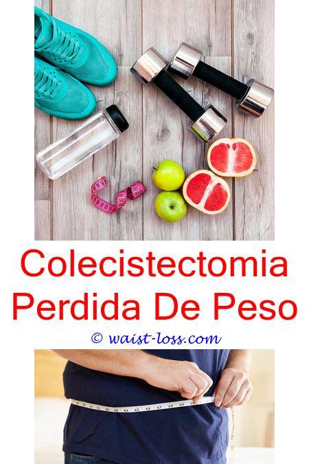 Colecistectomia perdida de peso