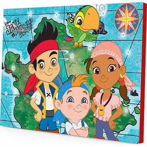 Disney Jake and the Neverland Pirates LED Light-Up Wall Art ...