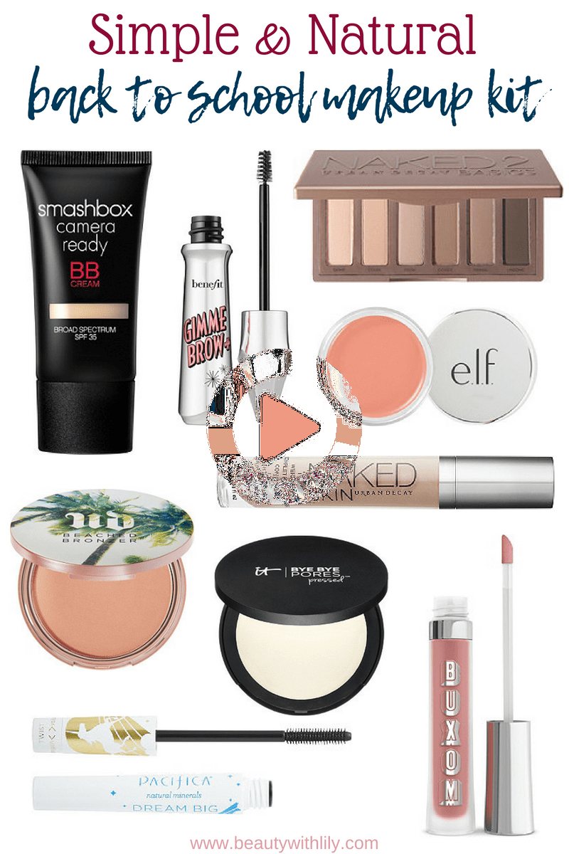 Back To School Makeup Kit in 2020 Back to school makeup