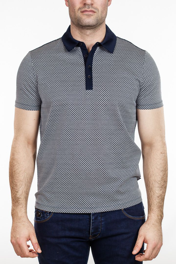 ca62068e2 BOSS Black - Rapino 44  195.00 A classically stylish polo shirt from the Hugo  Boss Spring   Summer 2015 Black collection. Made from fine mercerized cotton