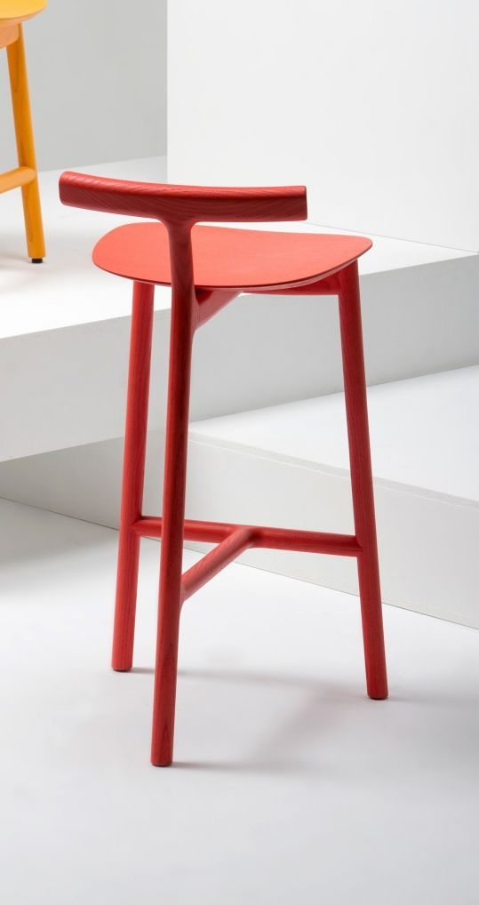 Bar Chair / Contemporary / Wood RADICE By Sam Hecht Mattiazzi