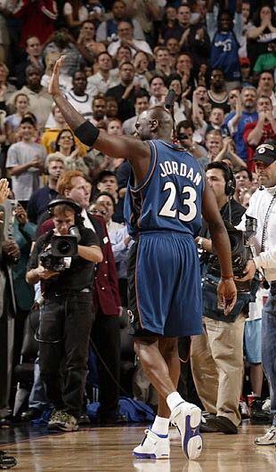sports shoes 7601e dbc40 Air Jordan XVIII --Colorway  White SportRoyal --Michael Jordan wore the Air  Jordan 18 as a Washington Wizard during the 2002-2003 NBA season.