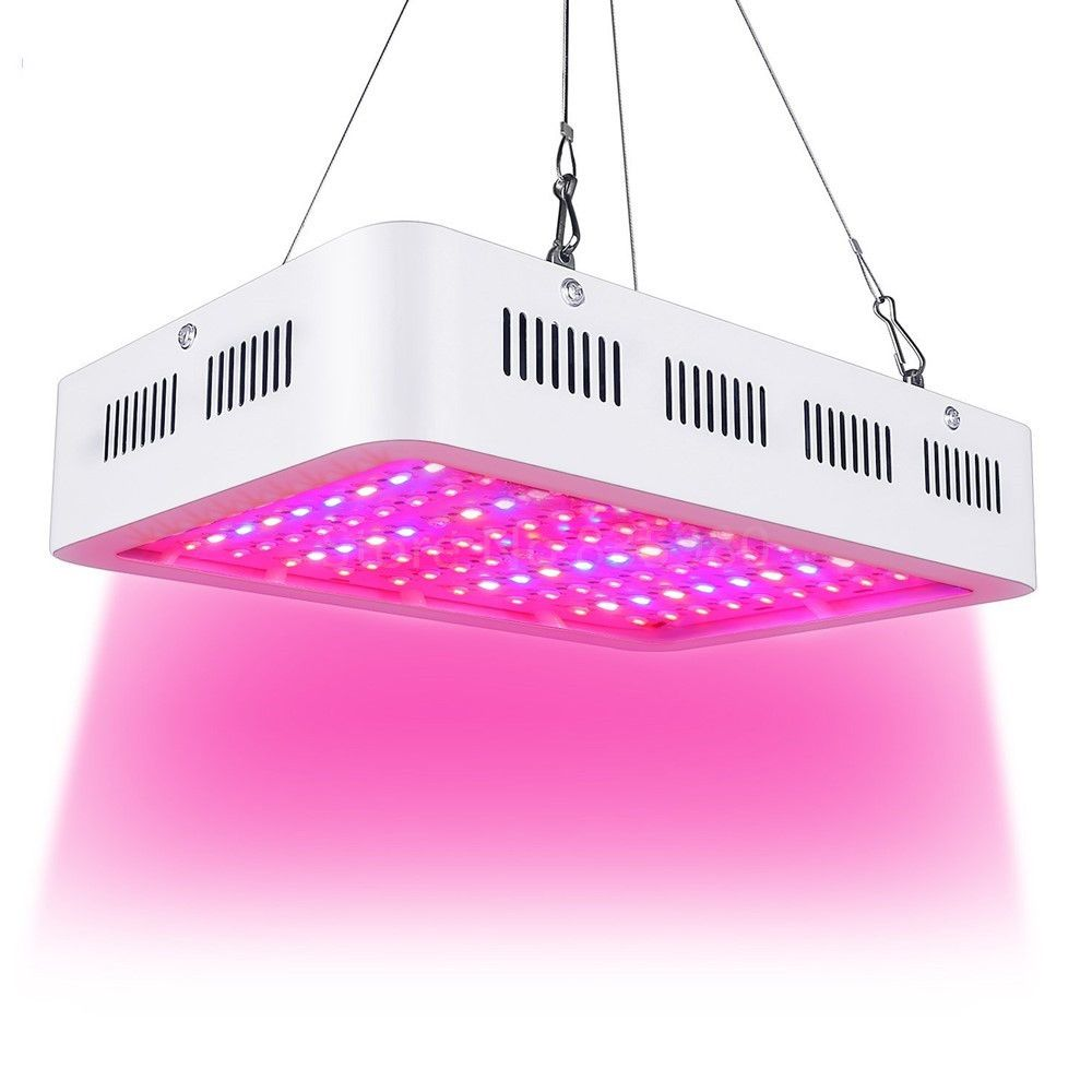 best led grow light 1000w double chip full spectrum for indoor aquario hydroponic plant flower led