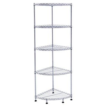 Lifewit Corner Shelf 5 Tiers Adjustable Metal Storage Wire Shelving Unit Shelving Unit Adjustable Shelving Shelves