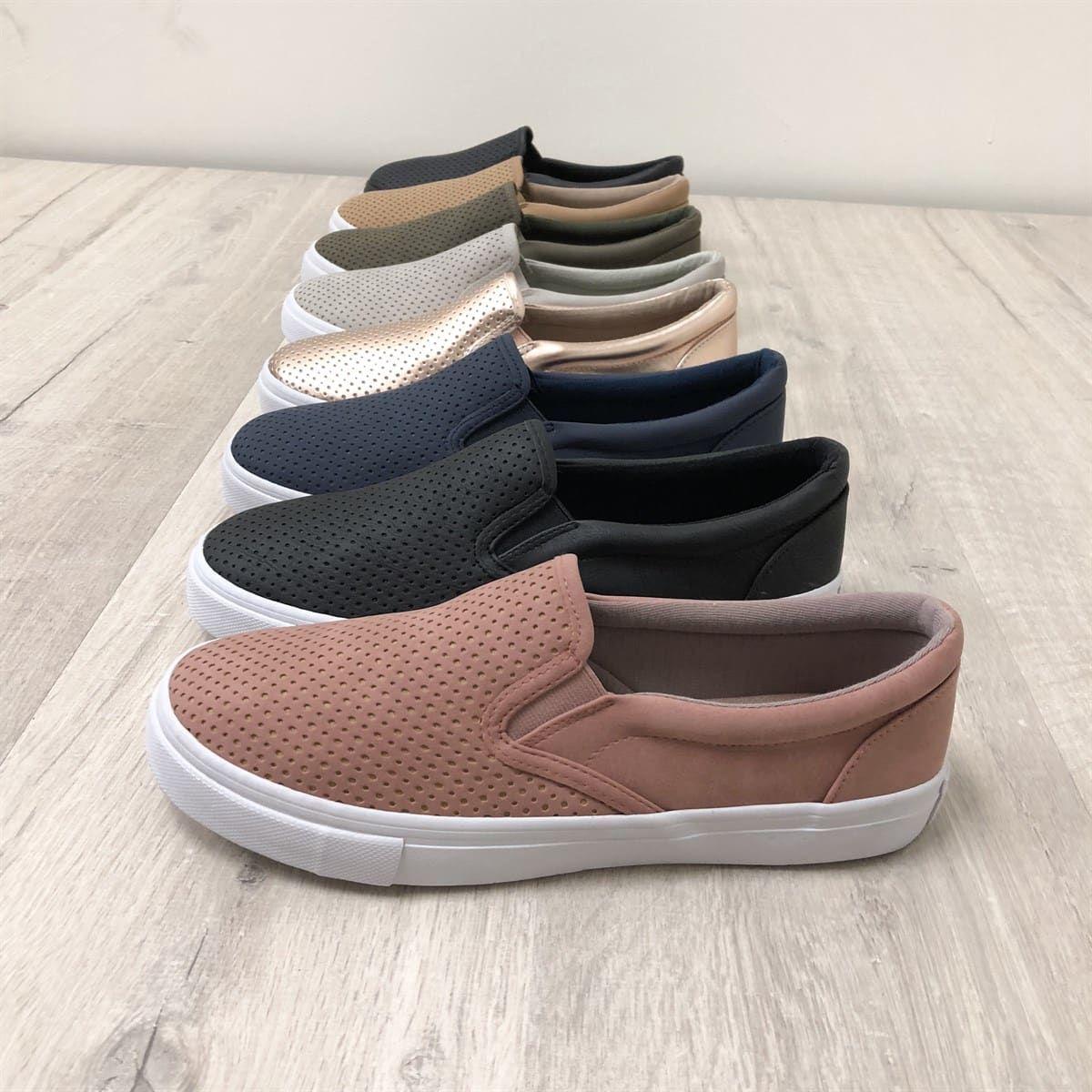 Soft 7 Laser Cut Slip On Sneaker