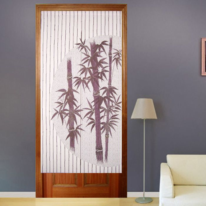 Chinese Bamboo Design Door Curtain Coffee Color D3019 Wholesale Faucet