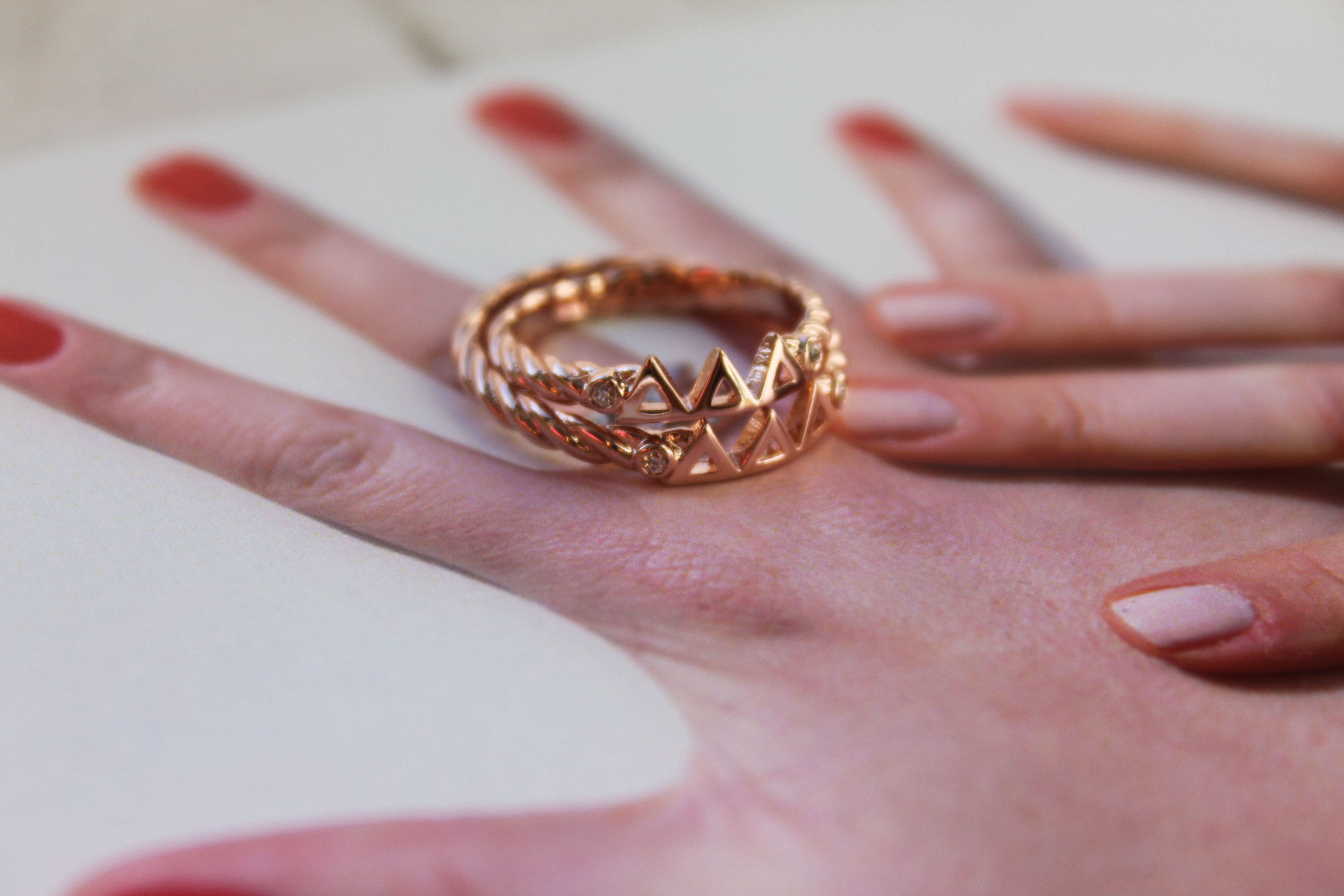 Navany.com ∆∆∆ ring in rose gold ($50 if under 30 order; $40 if 30 or more)