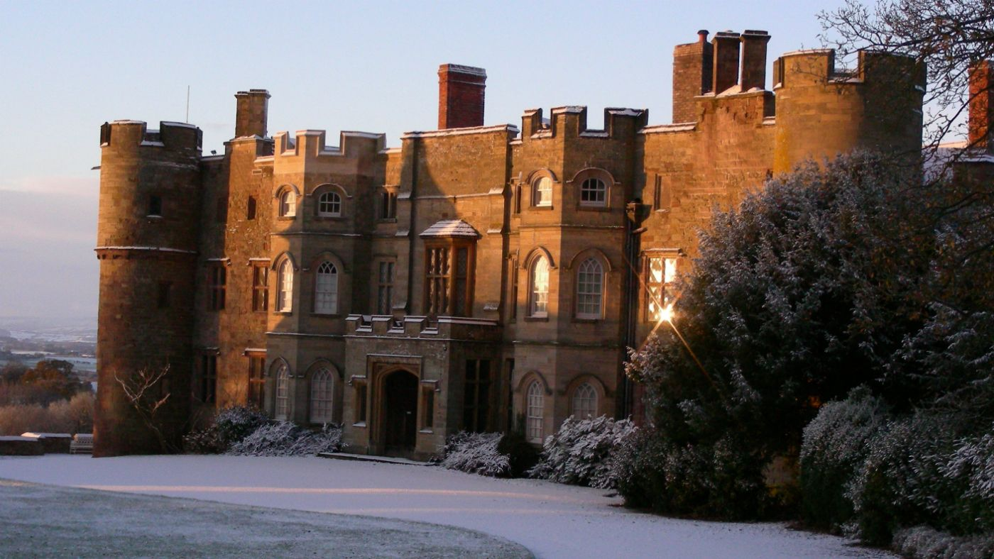 Croft Castle in Herefordshire In England - 1000 years of power ...