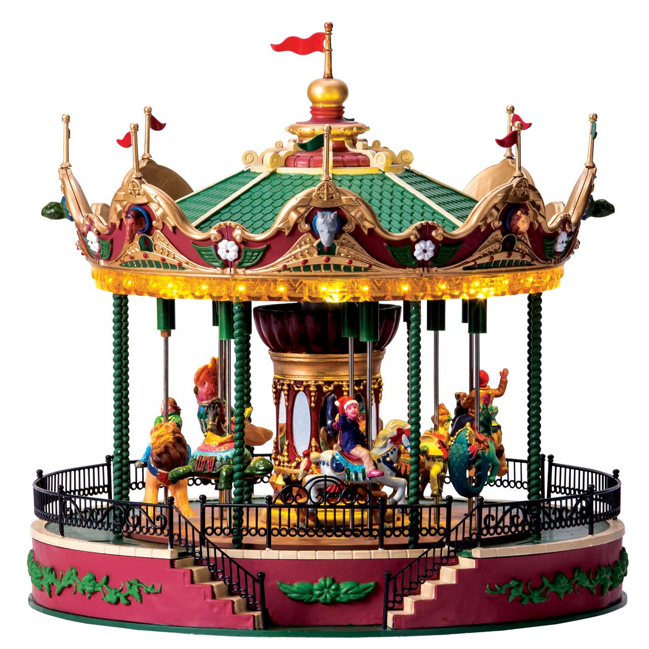 Lemax Jungle Carousel Sku 64155 64151 Is A New 2016