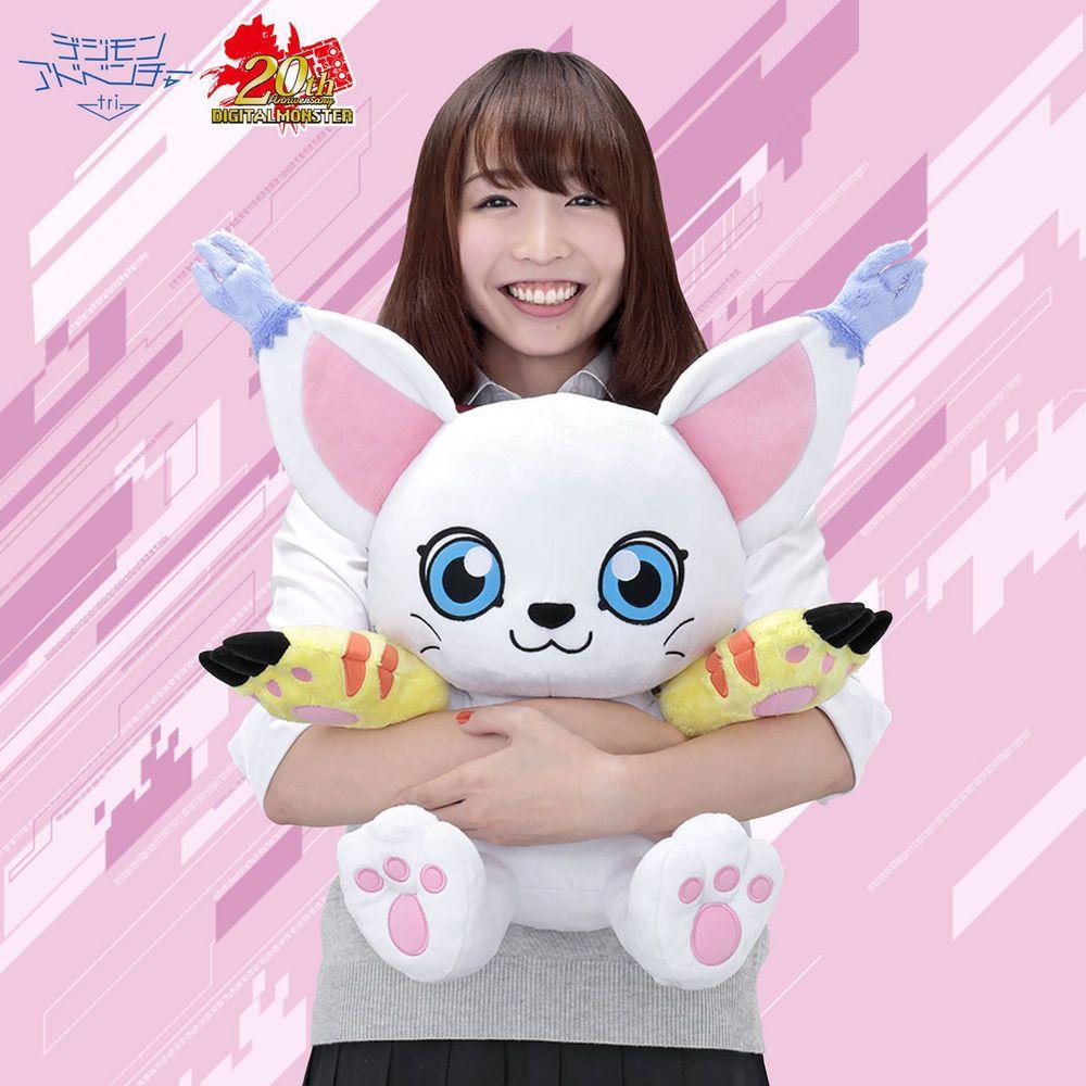 Digimon Adventure tri. Lifesize Tailmon Plushie stuffed toy Life ...