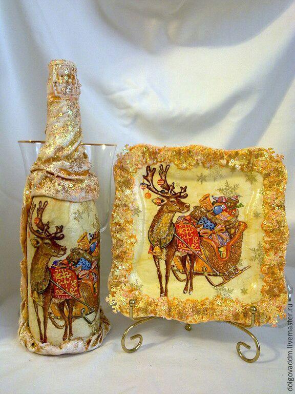 """Купить Новогодний набор """"Олень с подарками""""! - Новый Год, рождество, рождественский подарок, подарок женщине"""