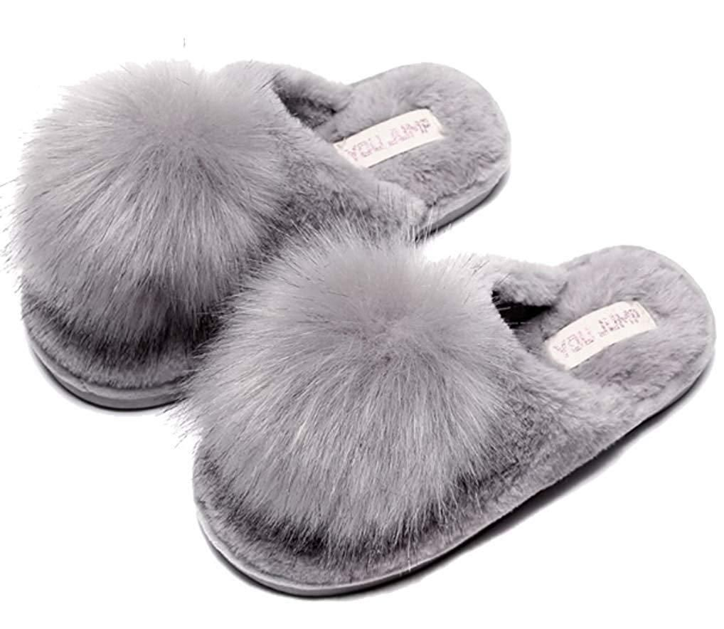 Cwait Winter Warm Kids Slipper Shoes Cute House Indoor Outdoor Slippers