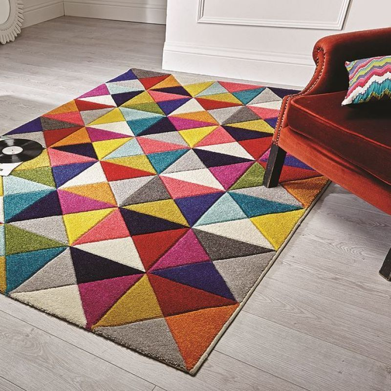 tapis multicolore samba flair rugs 80x150 tapis flair rugs collection 2016 en 2018. Black Bedroom Furniture Sets. Home Design Ideas