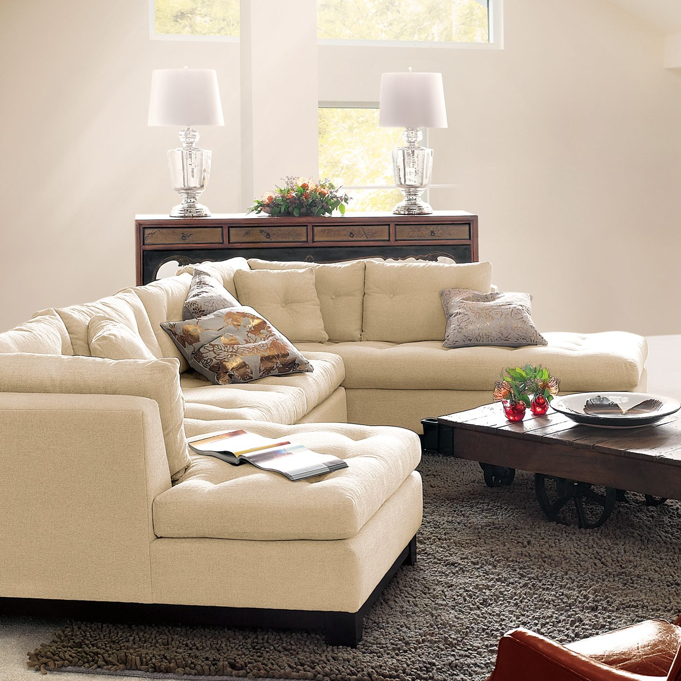 arhaus palm beach gardens. Garner 3 Piece Sectional Sofa | Arhaus Furniture Palm Beach Gardens
