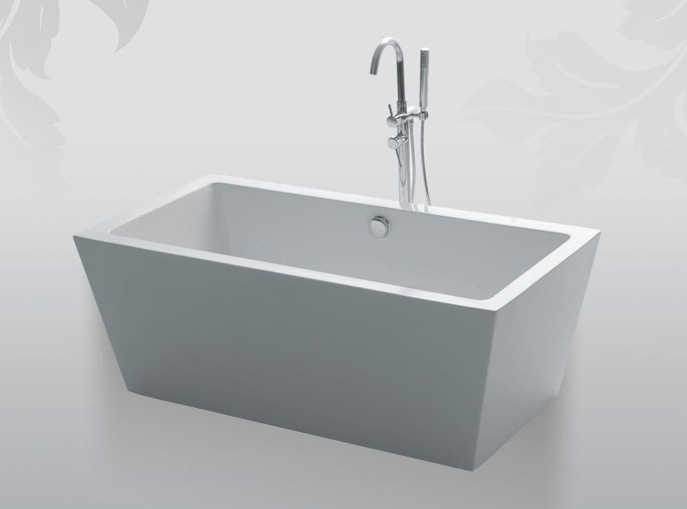 Hector 63-inch Acrylic Bathtub – Still Waters Bath   For the Home ...