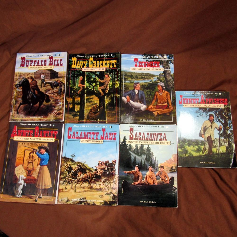 Lot 7 Disneys American Frontier Historical Novels Calamity