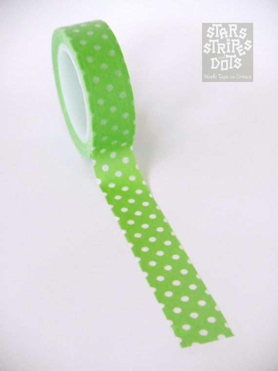 Lime Washi Tape