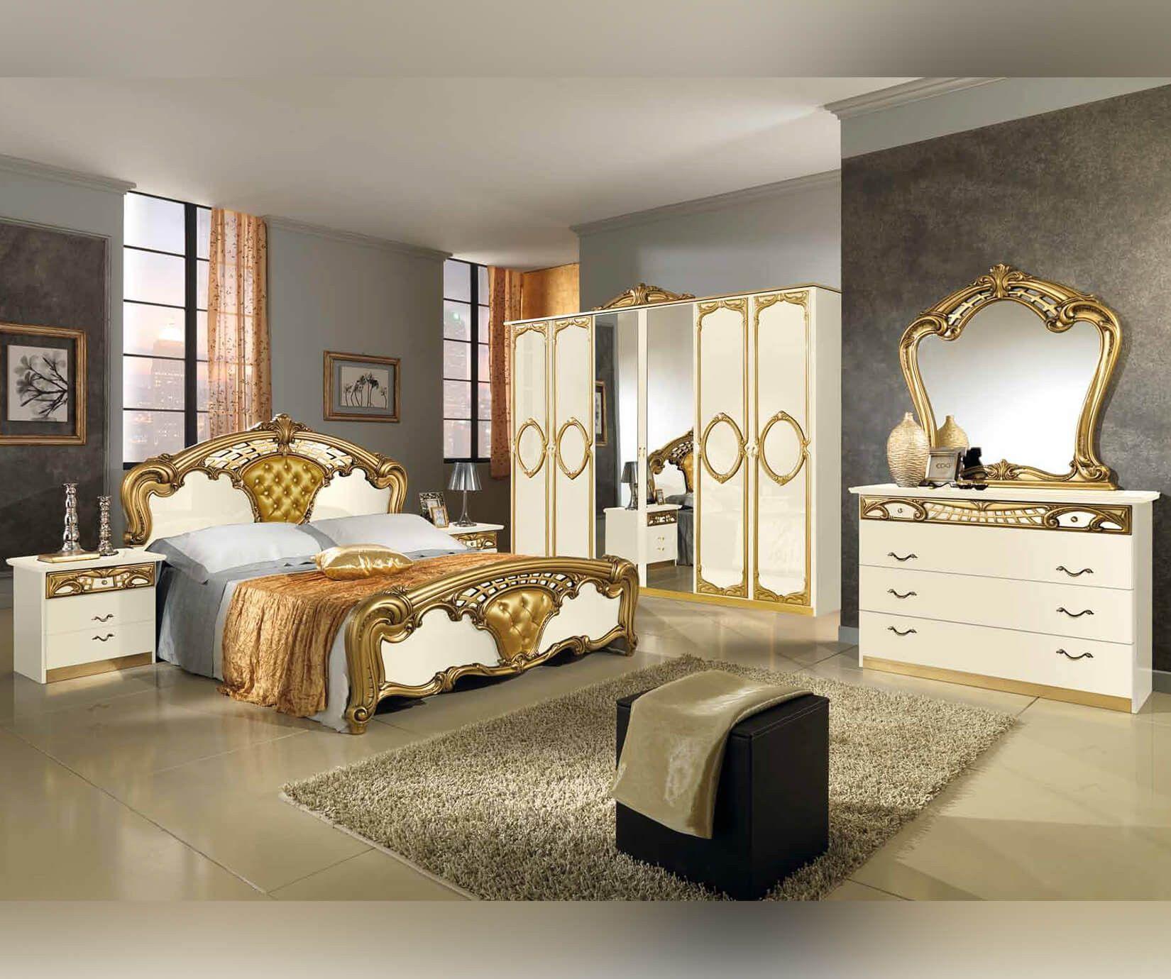 Italienische Schlafzimmer Set Luxusschlafzimmer Schlafzimmer