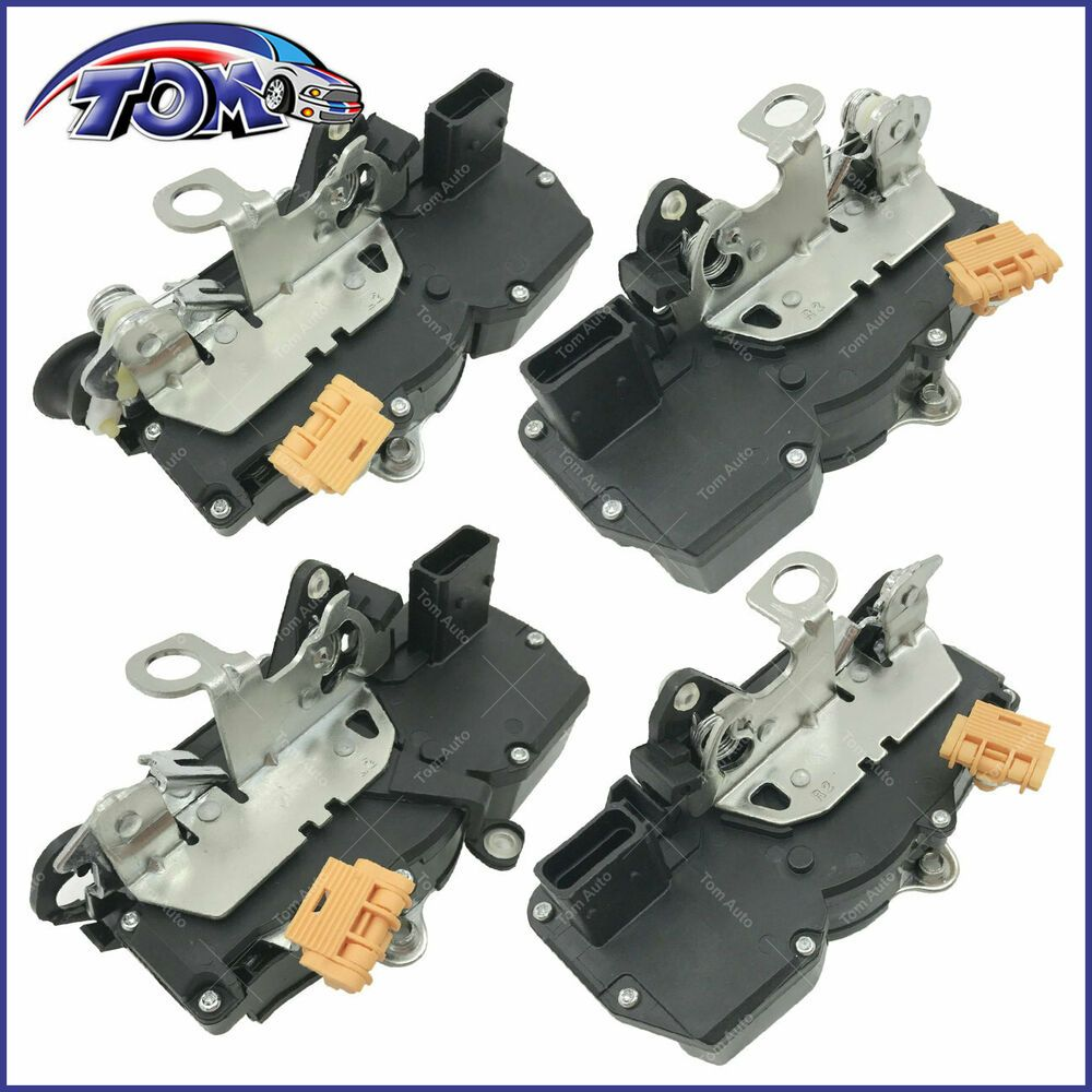 Door Lock Actuator Motor Front Rear Left Right Left For Chevrolet Cobalt 4pcs Chevrolet Cobalt Chevrolet Motor