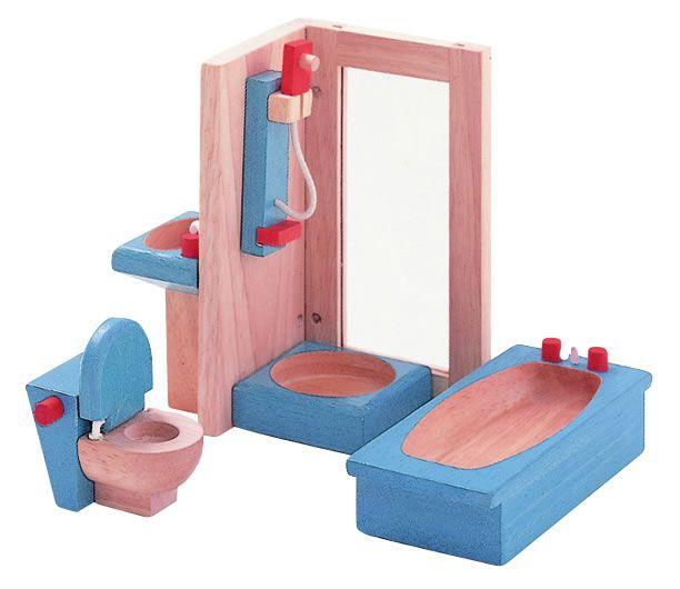 Amazing PLANTOYS Badezimmer Passend f r Puppenh user im Ma stab bietet diese Set f r das