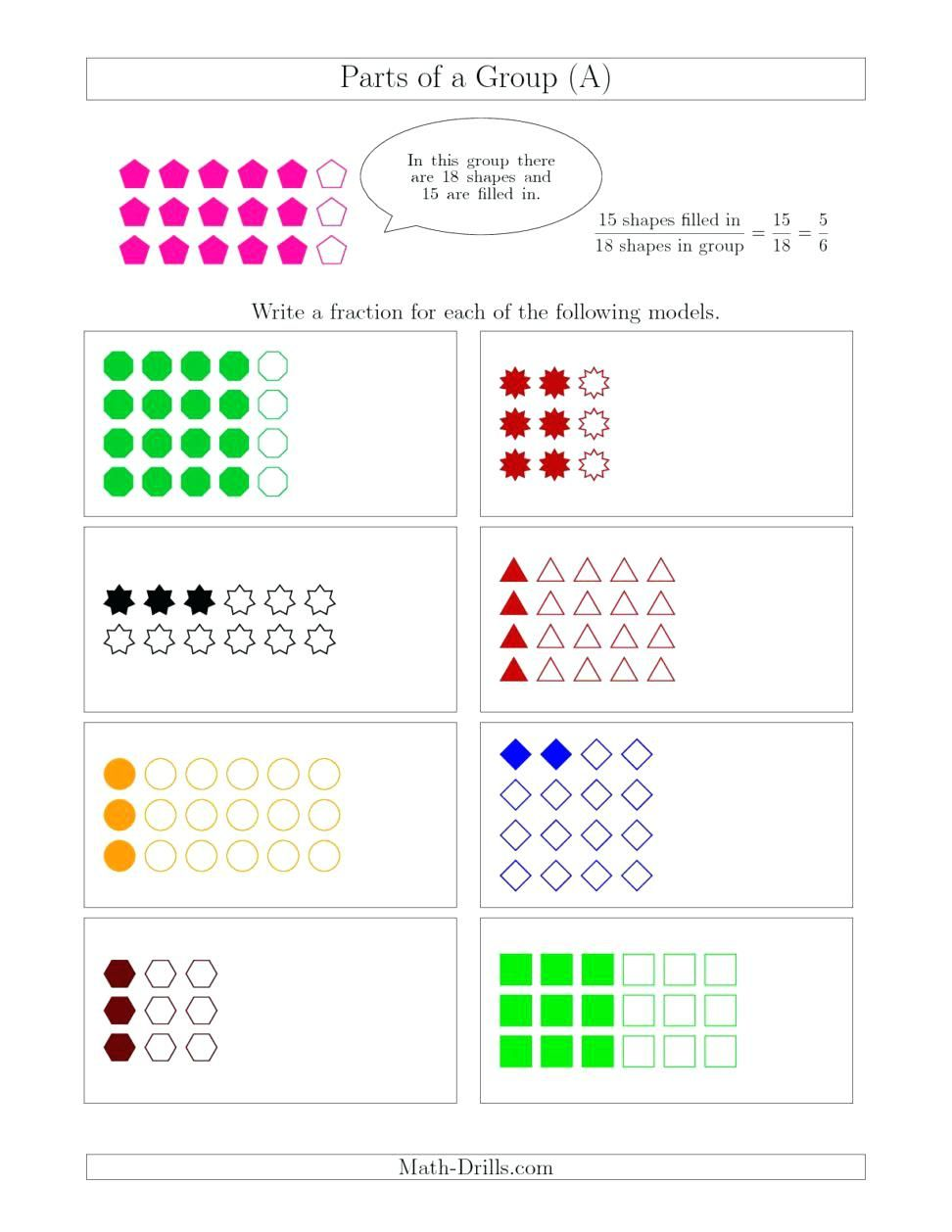 Free 1st Grade Shapes Worksheets Pictures 1st Grade With Images