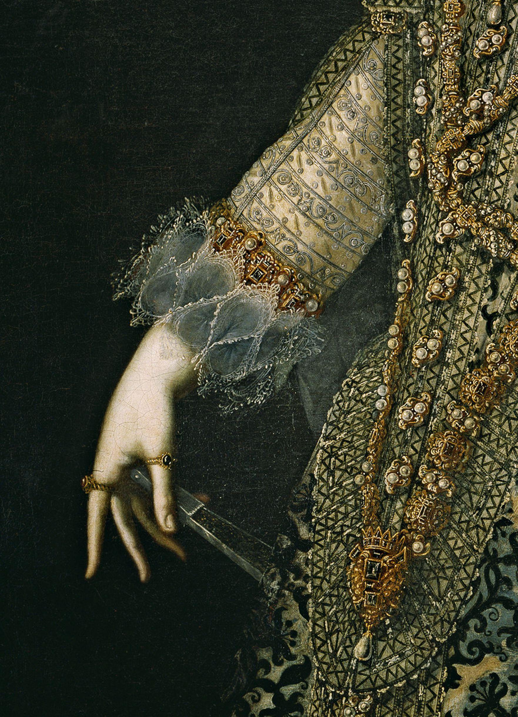 Isabel de Borbón, reina de España, primera esposa de Felipe IV 1620