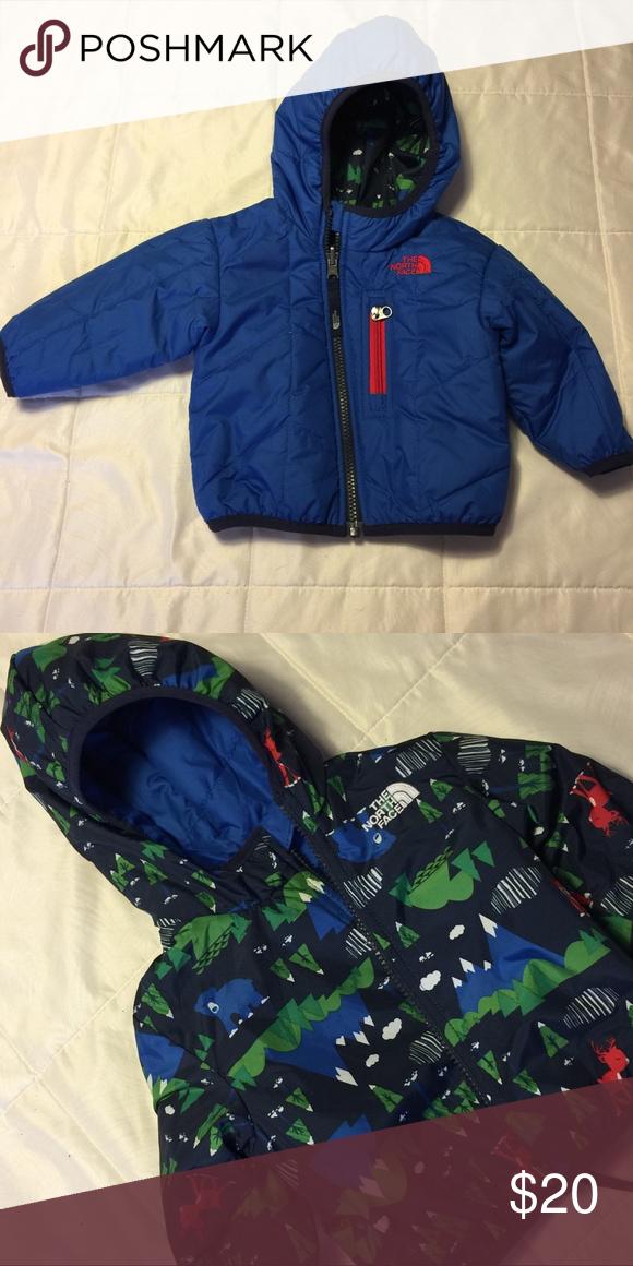 abgeholt Genießen Sie kostenlosen Versand neueste trends North face baby jacket Fully reversible NorthFace baby ...