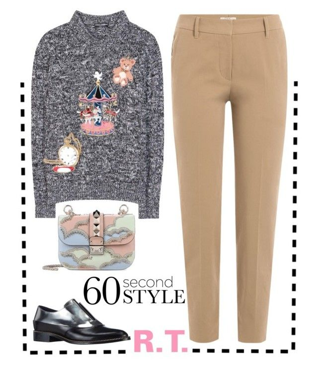 """R.T.-1658 60 Second Style: Family Dinner"" by sopo-davituri ❤ liked on Polyvore featuring Dolce&Gabbana, Brunello Cucinelli, Sebastian Professional and Valentino"