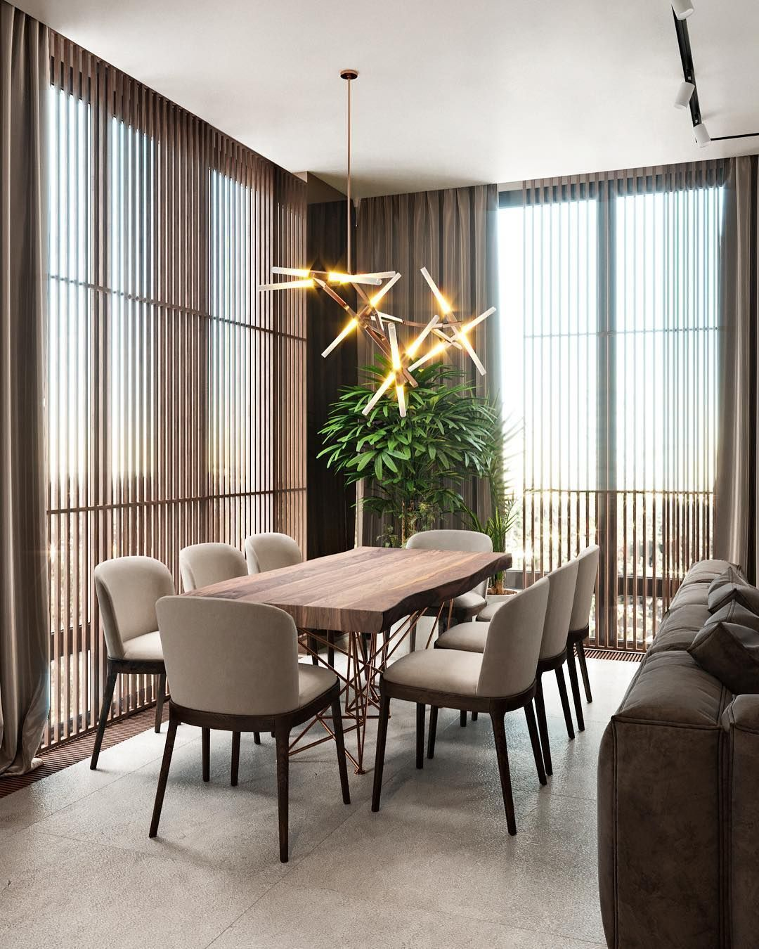 20 Best Minimalist Dining Room Design Ideas For Dinner: Brabbu Contract Helps You To Choose The Right Dining