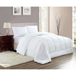 Porch Den Eastmoor Reversible Down Alternative Comforter White
