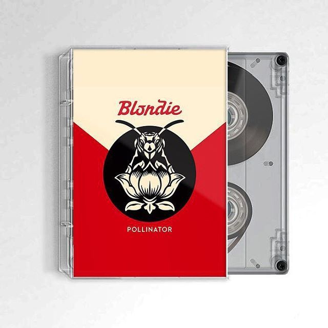 The new Blondie collection is gonna be sold on cassette now you can experience that crunchy