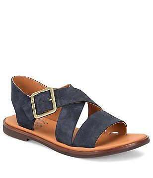 Nara Banded Suede Sandals W9TObf