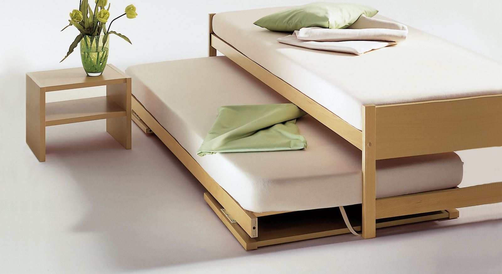 """Zwei Betten gleicher Größe Unser Ausziehbett """"On Top"""