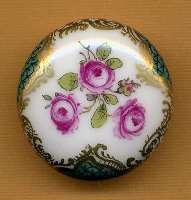 Beautiful-Antique-Porcelain-Button-Pillow-Shape-4-way-self-shank