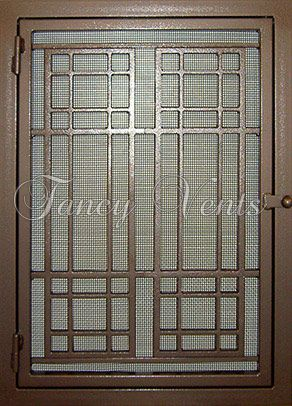 Decorative Vents Vent Covers Air Grille Return Air Grills Fancy Vents Craftsman Style Exterior Furnace Repair Air Conditioner Cover