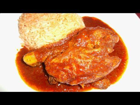 Receta de Pollo en BarbacoaPollo en Barbacoa con Consome