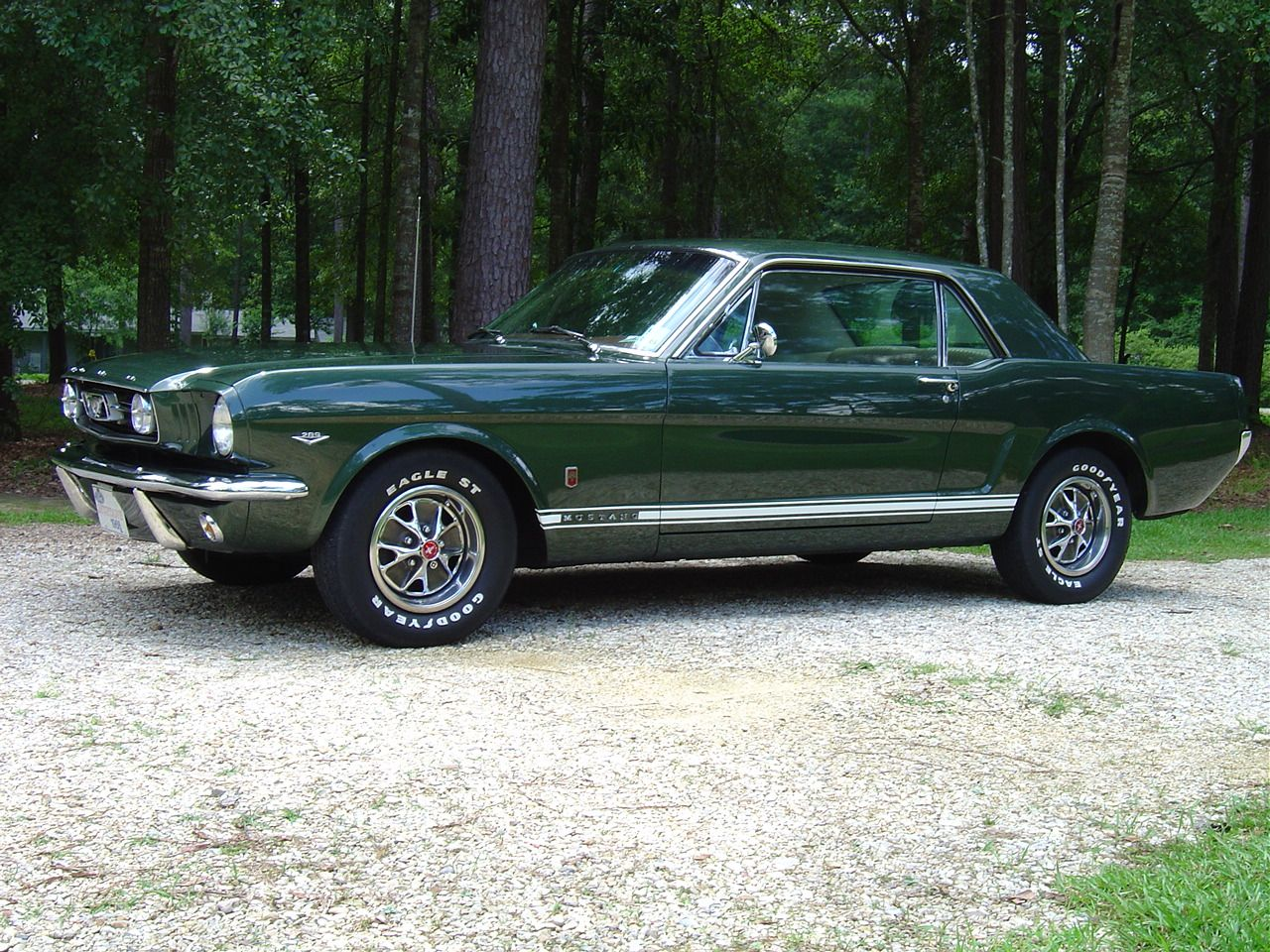 66 ivy green gt coupe